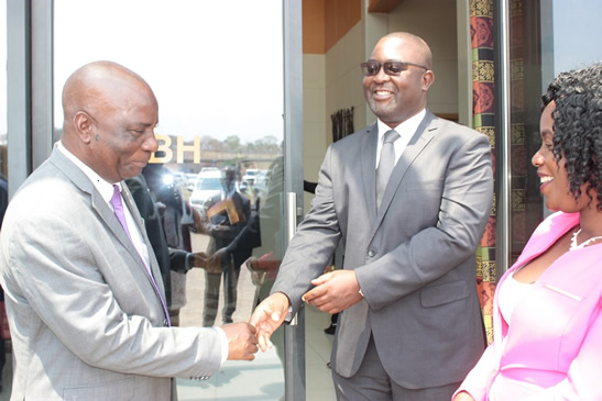 Minister Susuwele-Banda launches MESIP website and project monitoring system