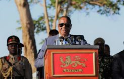 Mutharika calls for a stop to violence as police officer dies