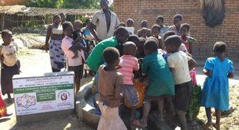 British man raise 5 million kwacha to build wells in Dedza