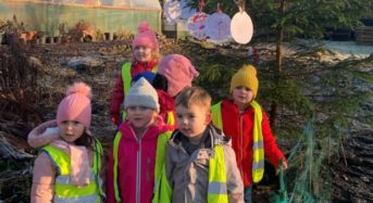 Scottish nursery pupils leave festive messages for friends in Malawi