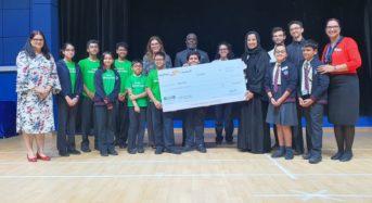 Dubai School raises Money for kids in Malawi