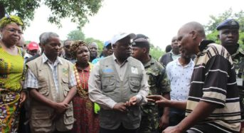 Chimulirenji visits people, areas affected by flash floods in Lilongwe City
