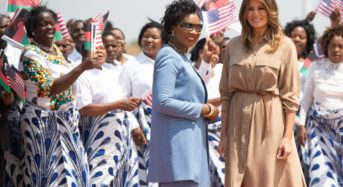White House staff raises money for Malawi School after visit with Melania Trump