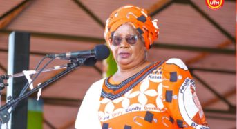 I am former President not 'retired'-Joyce Banda calls  for peaceful Campaign