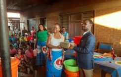 First lady donates buckets and soap to Thyolo Central Constituency to fight Covid 19