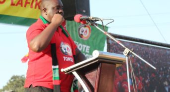 Kamatcheni kazombo touts Saulos Chilima as man of his promises