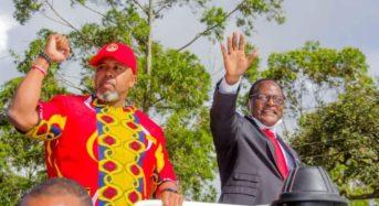 Chakwera  and Chilima storms Mzuzu – aims for Malawi Okomela Tonse
