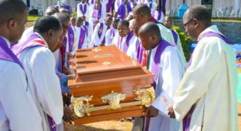 Reverend Father Chinguo laid to rest at Limbe Cathedral Cemetery