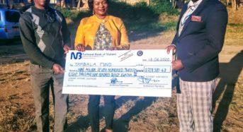 Gotani Hara thanks MCP Diaspora for Money donation towards election Monitors
