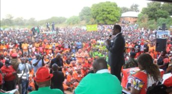 "Zikhale thanks ""incoming President"" Chakwera for Nkhatabay visit"
