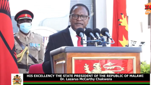 Chakwera calls for more Covid19 caution , only 20000 people to grace July 6 celebrations