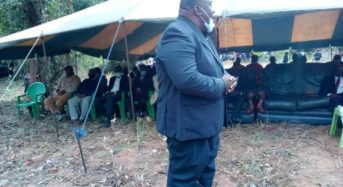Dr Ken Zikhale lead mourners as former MP Sam Kandondo Banda is laid to rest