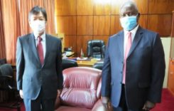 Government received K2 billion grant from Japan to fight against COVID-19
