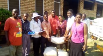 Dr Ken Zikhale Ng'oma continues development exploits, donates building materials, borehole and Maizemill to Nkhatabay Constituency