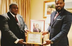 """Dr Ken Zikhale Ng'oma gets """"Outstanding MP Award 2020"""" from London Political Summit"""