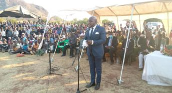 Mtambo pays tribute to Dedza Mob justice victim as he calls for more Civic Awareness.