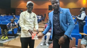 Sports Minister Msungama graces Chancy Gondwe book launch. Chakwera buys 20 books
