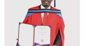 Musician Namadingo awarded Doctorate degree from University of South Africa