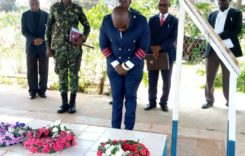 Mtambo lays wreath at Chakufwa Chihana grave;  holds interface with July 20 victims families