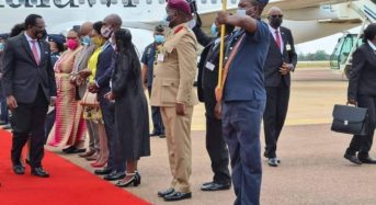 President Chakwera arrives in South Africa  on a state visit