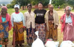 Deputy Minister Kambauwa donates Maize flour to elderly constituents
