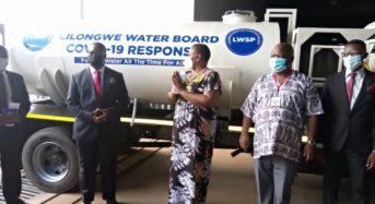 LL Water Board, Press Trust donates towards Covid-19 fight