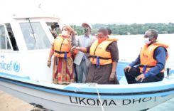 UNICEF donates boats to Health Ministry