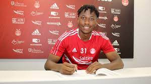 Malawi Defender Kieran Ngwenya signs new Aberdeen Deal