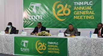 TNM invests K31.5Billion in infrastructure