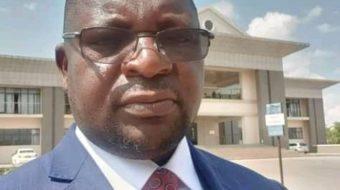 Shadreck Namalomba is the new DPP spokesperson after Mpinganjira